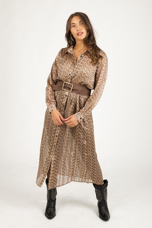 Ambika Maxi-jurken Dierenprint Revel