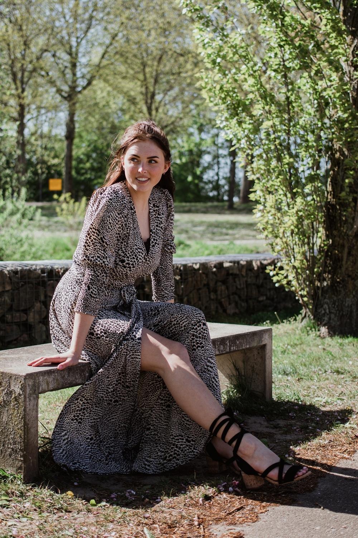Ambika Maxi-jurken Groen Tawny-2