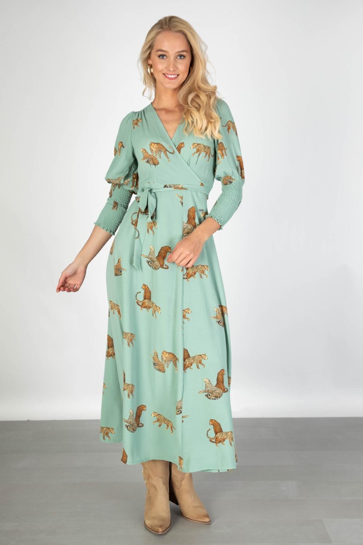 Ambika Maxi-jurken Groen Tawny