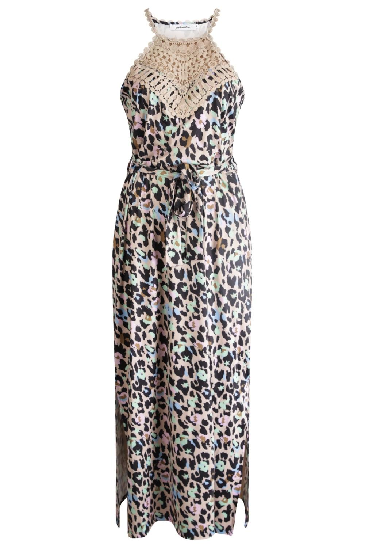 Ambika Maxi-jurken Multicolor Sisley