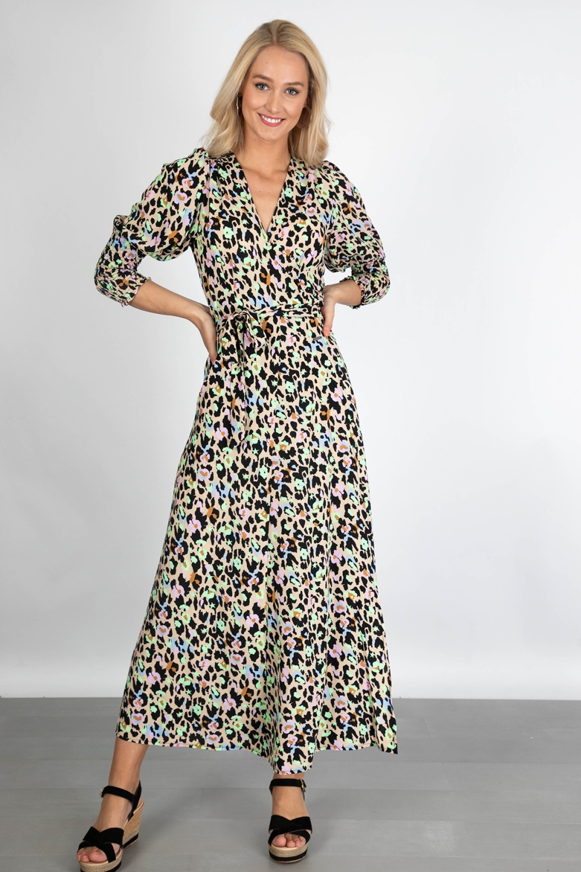 Ambika Maxi-jurken Multicolor TAWNY