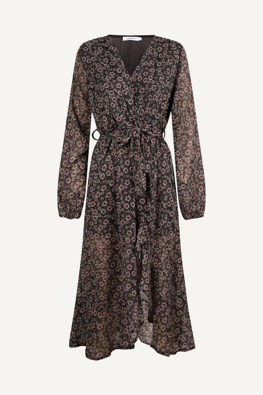 Ambika Maxi-jurken Zwart Reign
