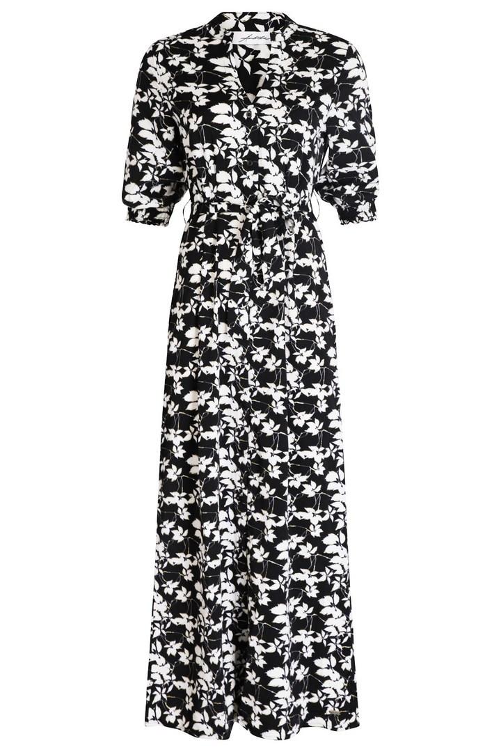 Ambika Maxi-jurken Zwart Sheldon