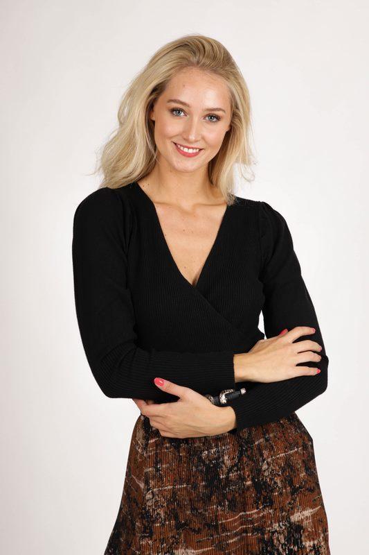 Ambika trui Zwart Vera