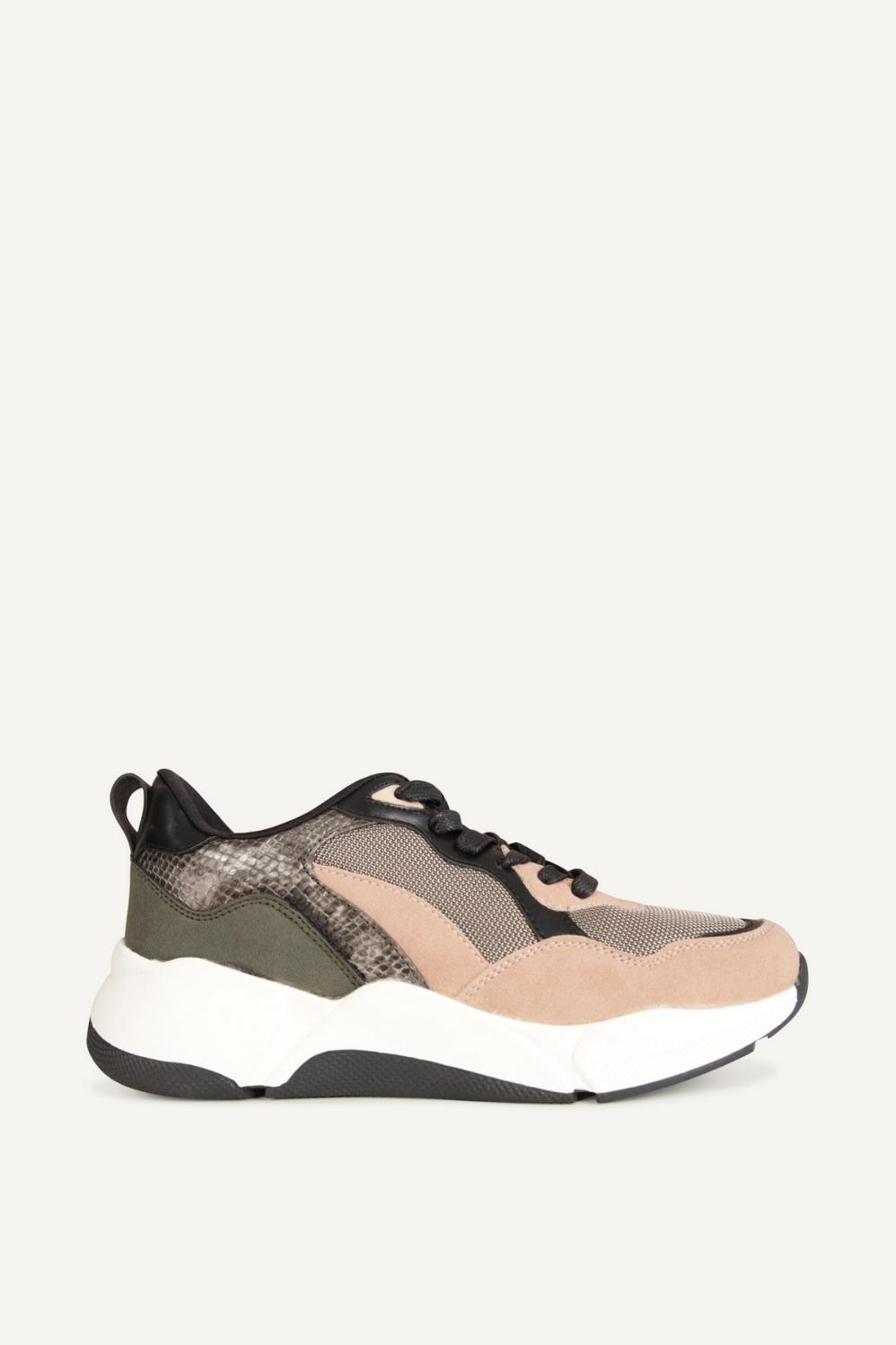 Bullboxer Sneaker Roze 077012F5