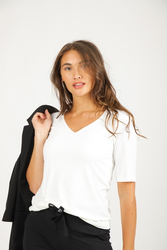 &Co Woman Shirt / Top Ecru Lovi