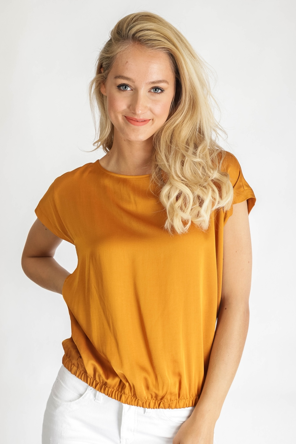 &Co Woman Shirt / Top Oranje Billy