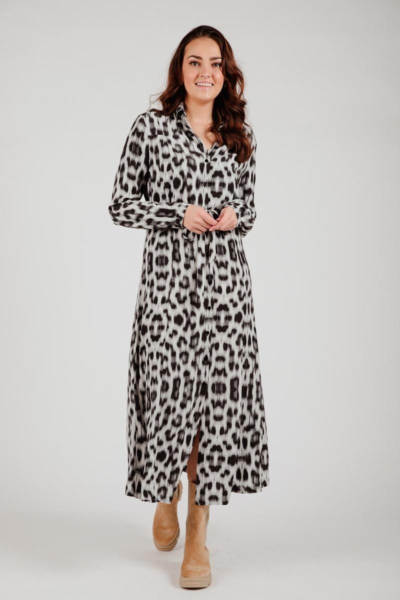 &Co Woman Maxi-jurken Blauw Alexia