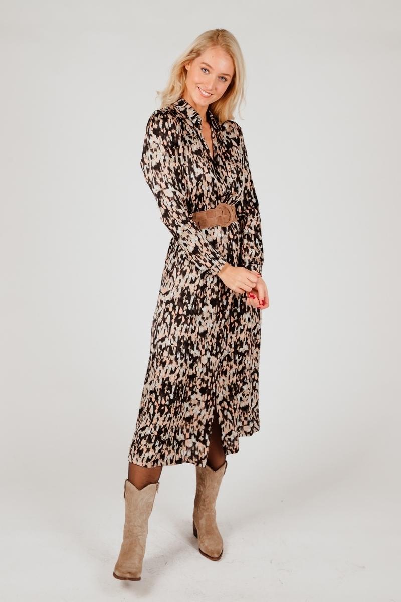 &Co Woman Maxi-jurken Multicolor Anna