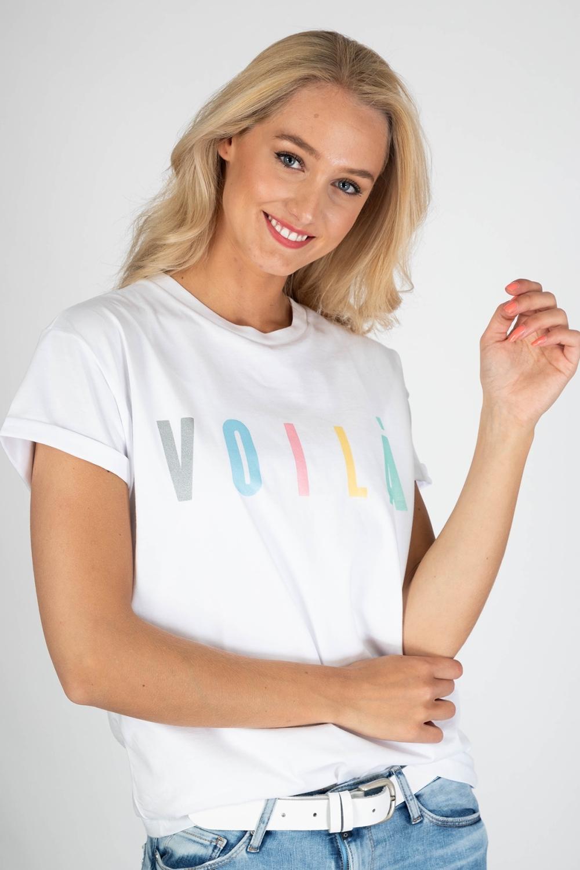 Shirt Top Wit 8384