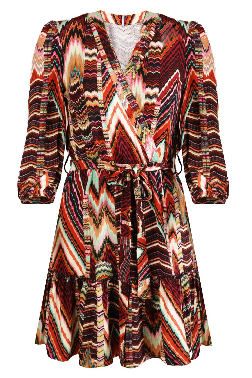 Daily Glamour Jurk Multicolor 3030