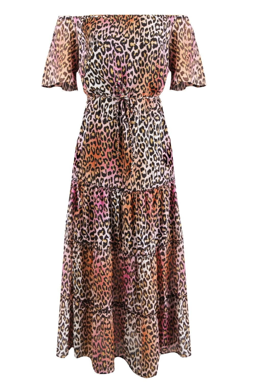 Daily Glamour Maxi-jurken Multicolor 1716