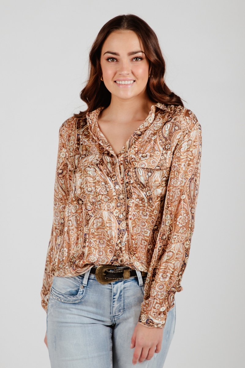 Esqualo Blouse Multicolor SP21.15002