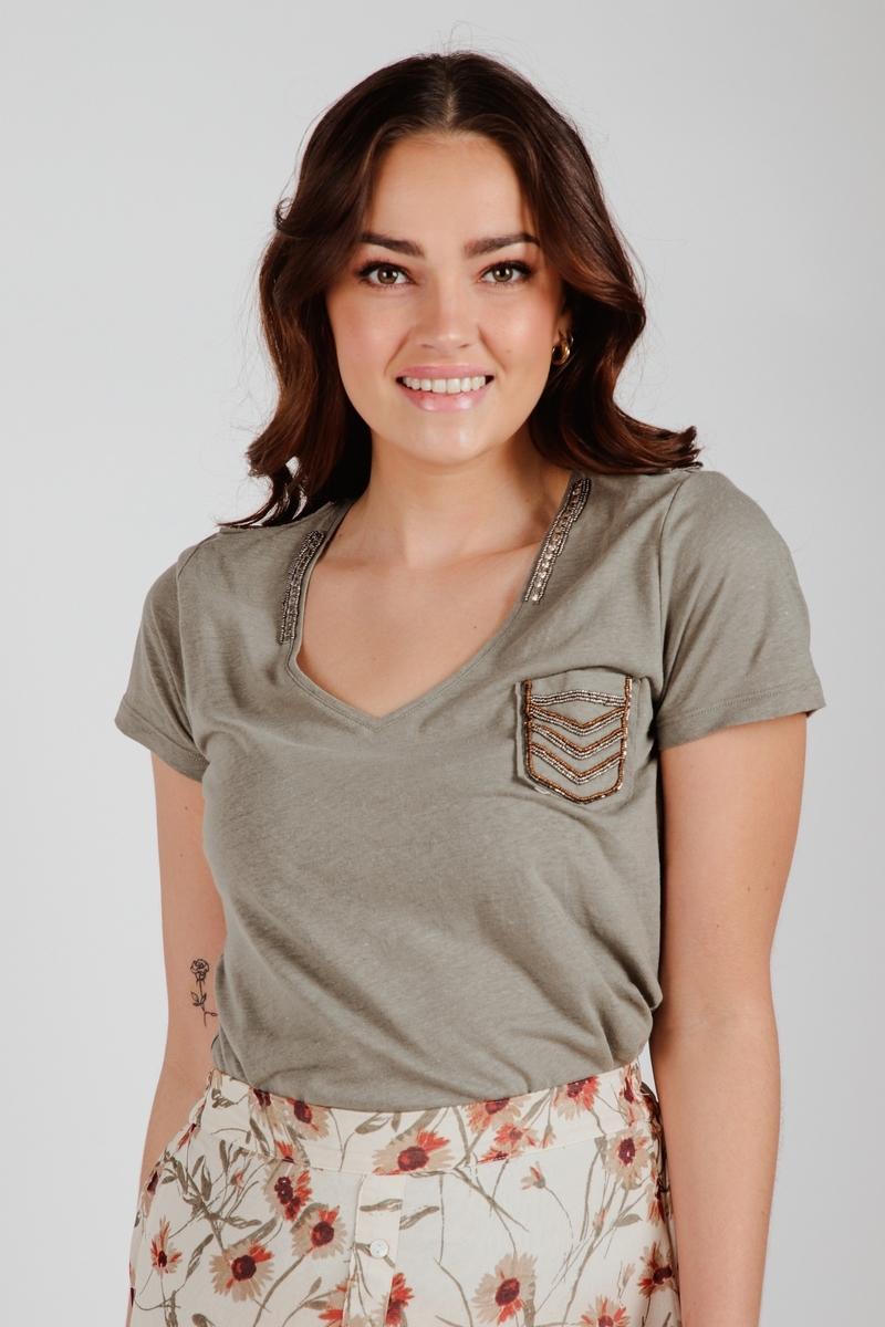 Esqualo Shirt / Top Groen SP21.30000
