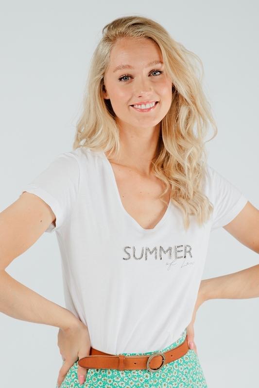 Esqualo Shirt / Top Wit HS21.30225