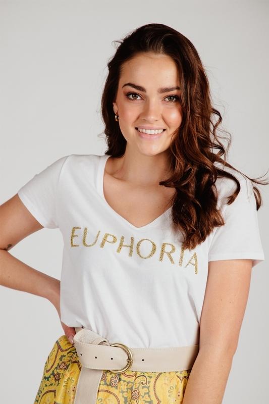 Esqualo Shirt / Top Wit SP21.05004