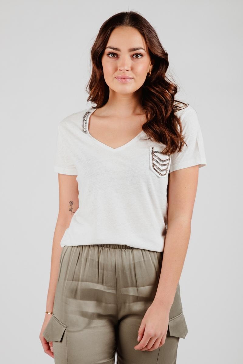 Esqualo Shirt / Top Wit SP21.30000
