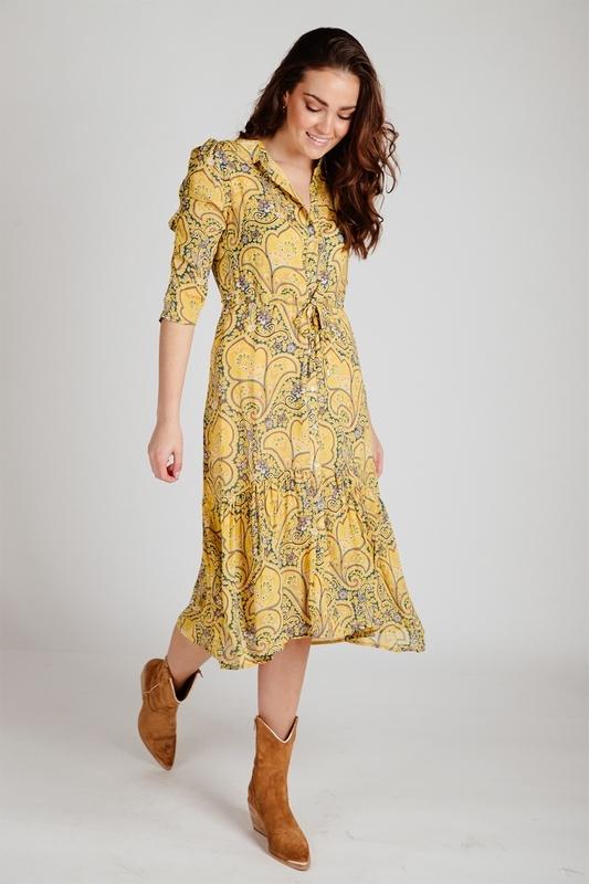 Esqualo Midi-jurken Multicolor SP21.14012