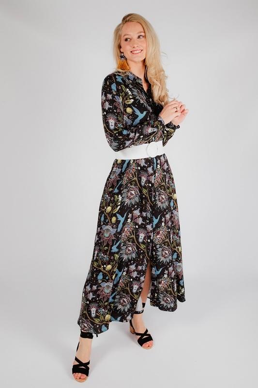 Est'seven Maxi-jurk Multicolor Maxi dress night day