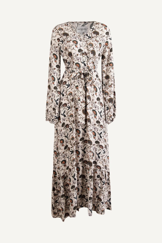 Est'seven Maxi-jurken Multicolor Paris Dress