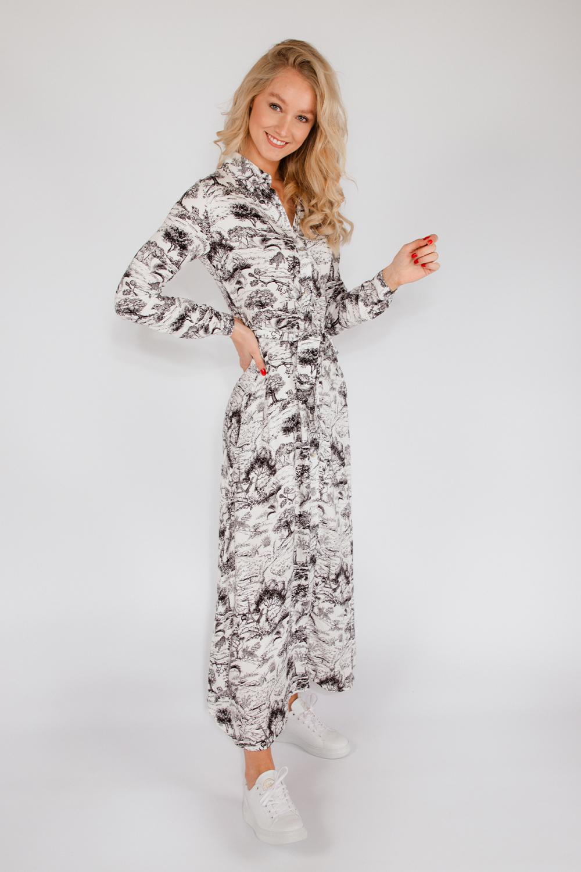 Est'seven Maxi-jurk Zwart Est' Maxi Dress