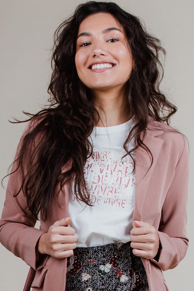 Femme9 Shirt / Top Antraciet Marsha