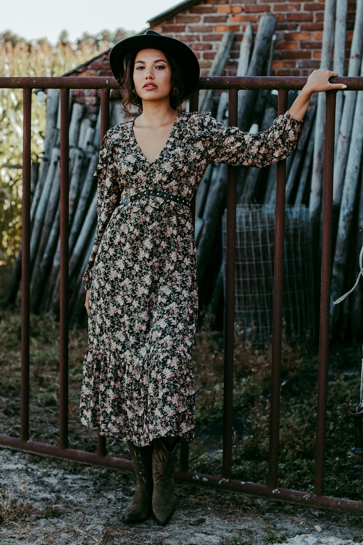 Femme9 Maxi-jurken Multicolor Bella