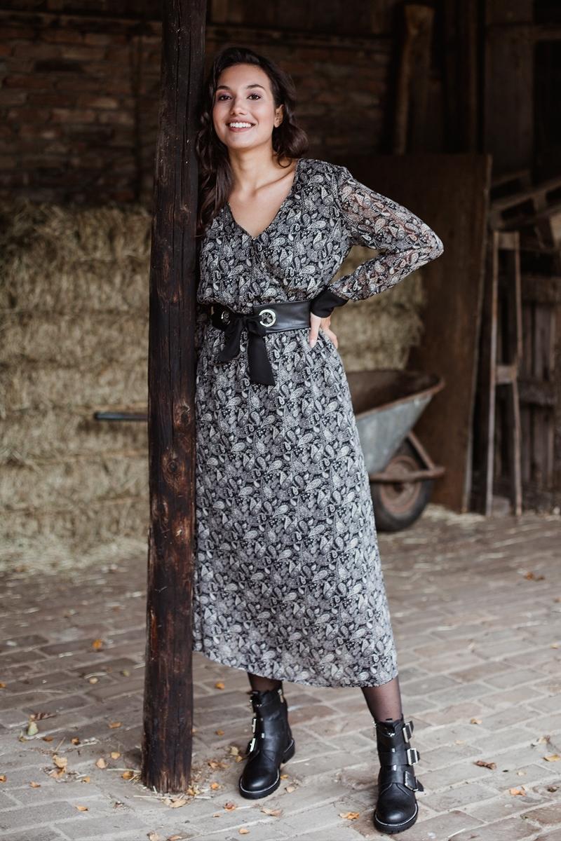 Femme9 Maxi-jurken Multicolor Donna