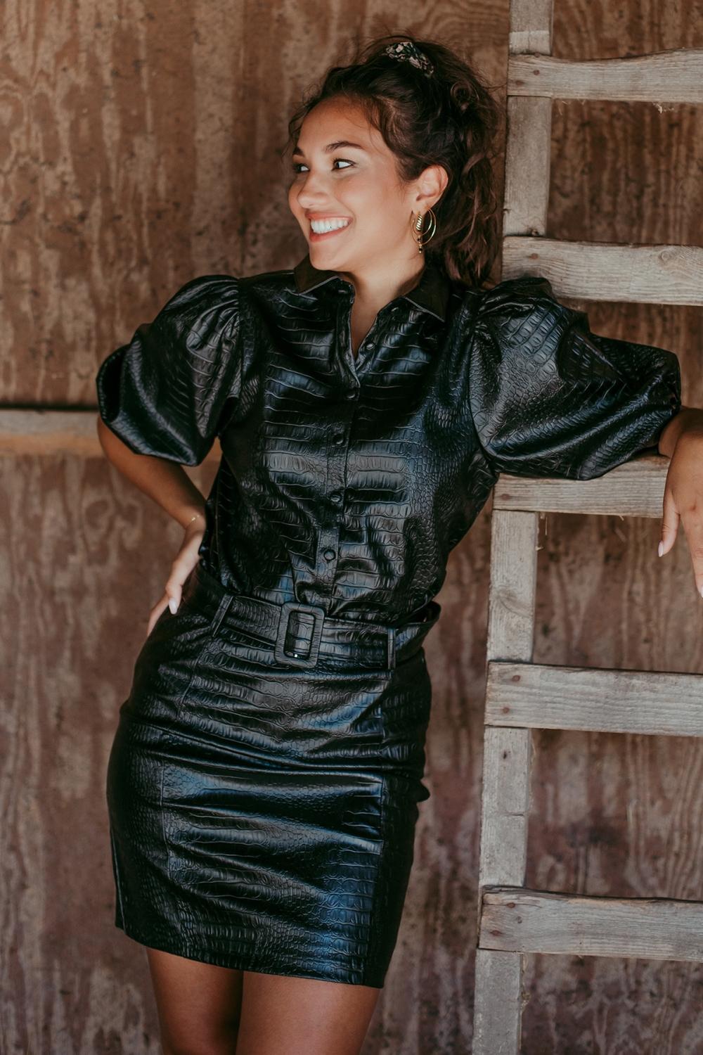 Femme9 Rok Zwart Billie