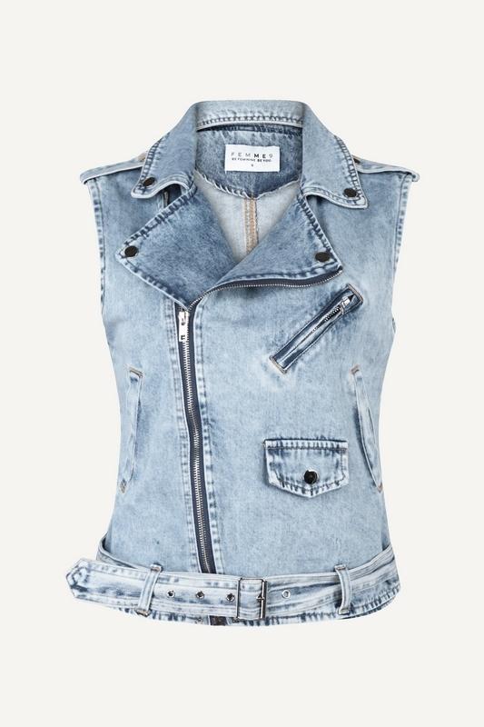 Femme9 Vest Blauw Dolly