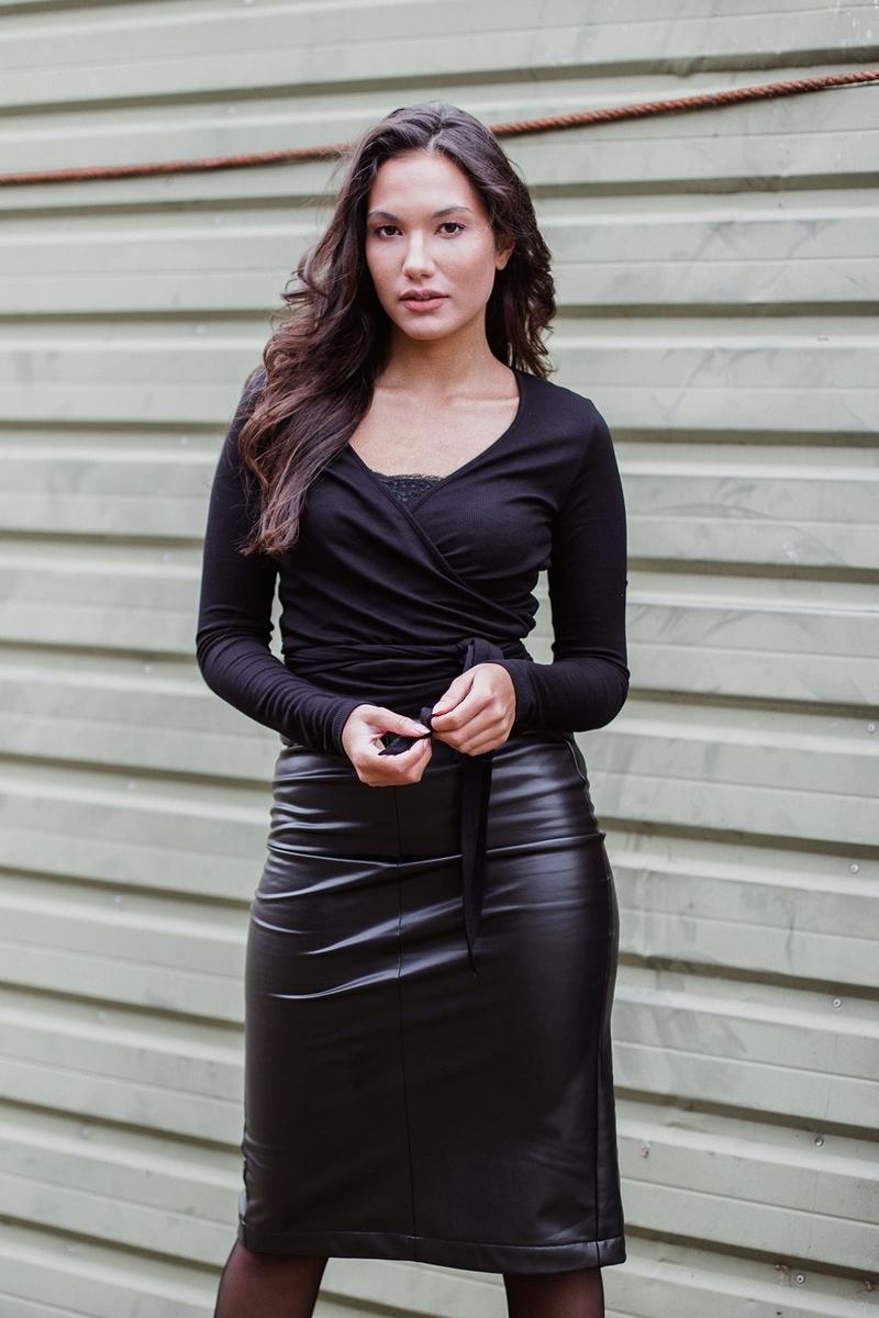 Femme9 Vest Zwart Esther
