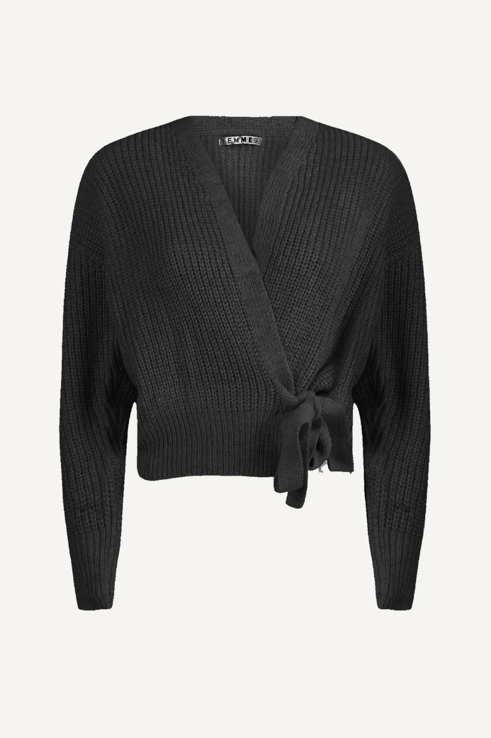 Femme9 Vest Zwart Olivia