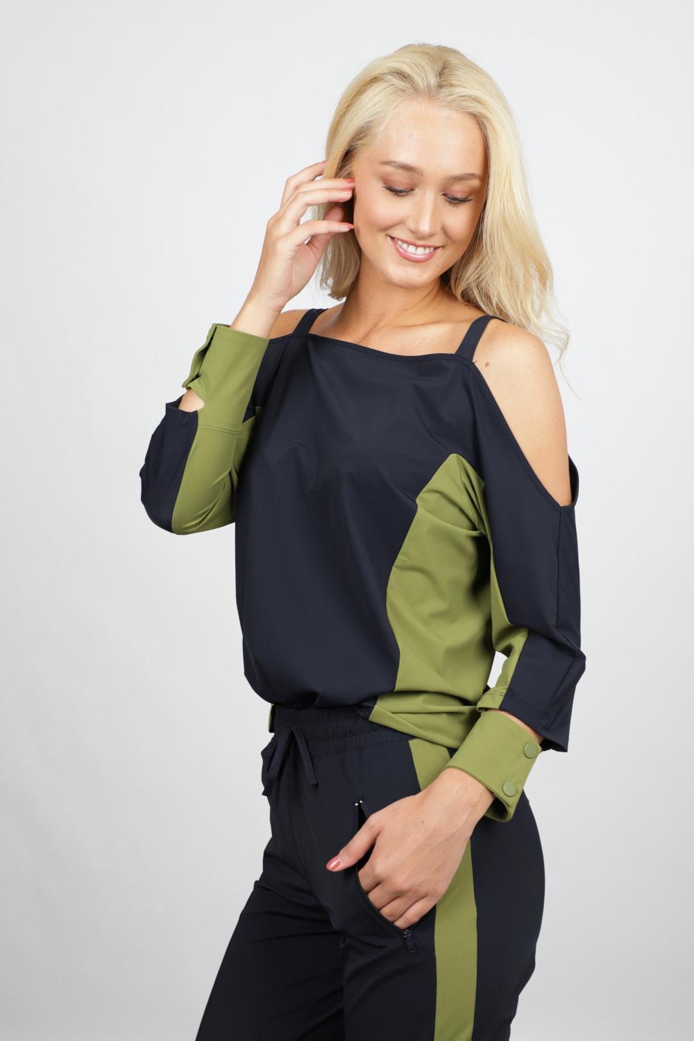 Fifth House by NIKKIE Shirt / Top Groen FH 6-439 1904