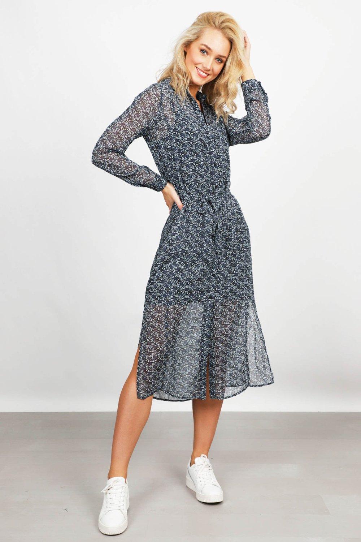 Freebird Maxi-jurken Zwart Harper