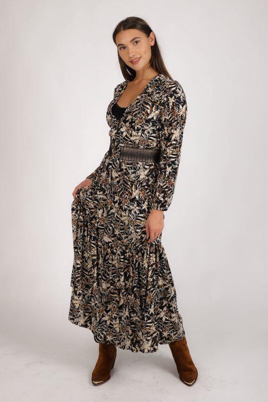 K-Design Maxi-jurken Dierenprint R162