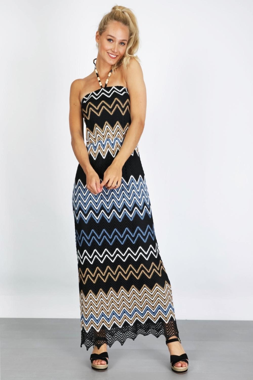 K-Design Maxi-jurken Multicolor Q905