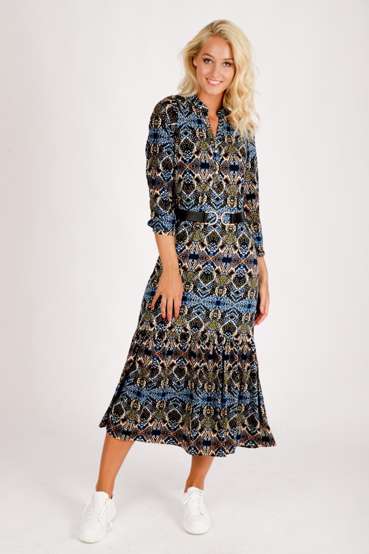 K-Design Maxi-jurken Multicolor  R169