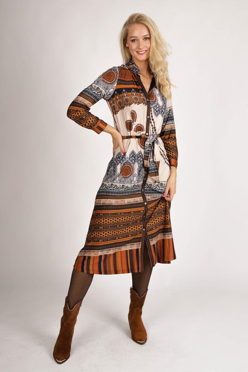 K-Design Maxi-jurken Multicolor R702