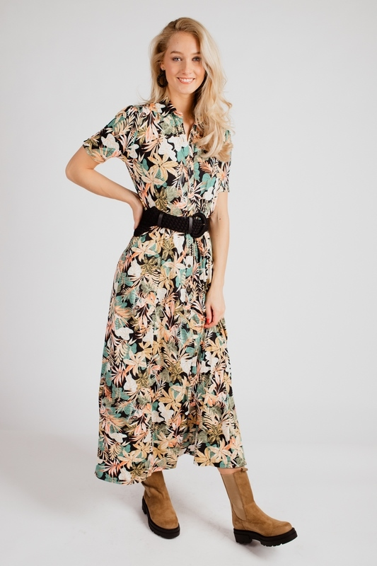 K-Design Maxi-jurken Multicolor S107