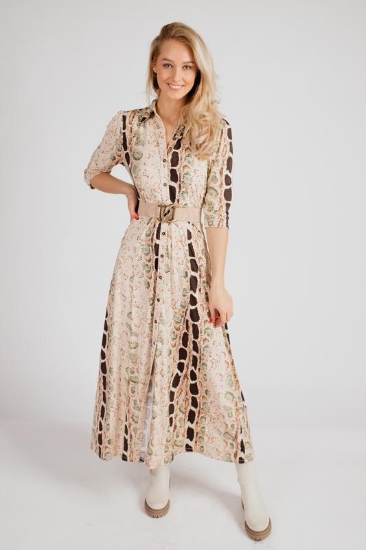 K-Design Maxi-jurken Multicolor S123
