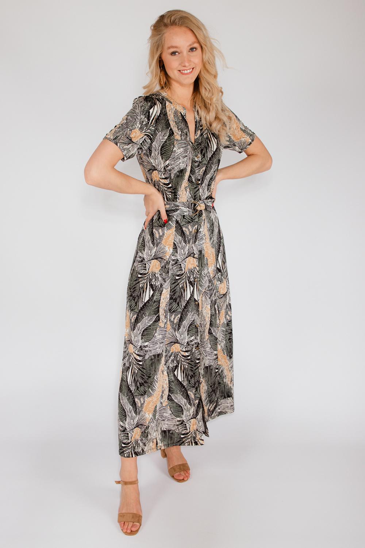K-Design Maxi-jurken Multicolor S897