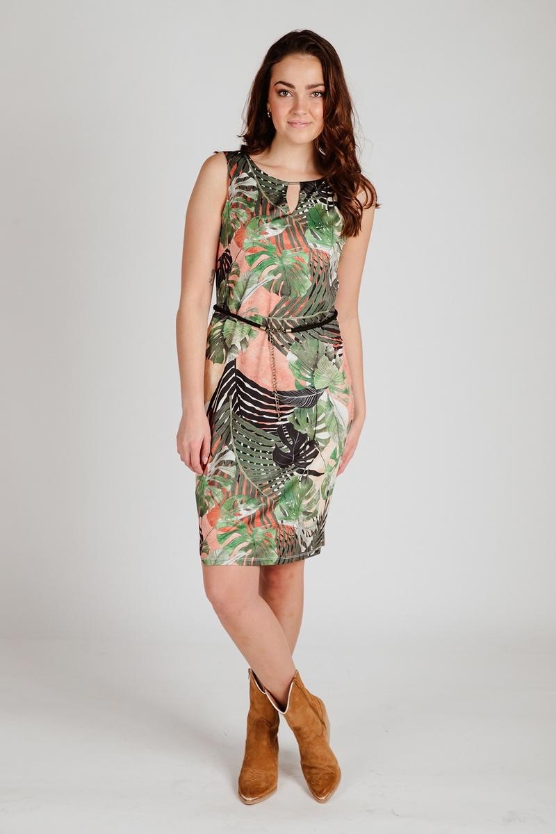 K-Design Midi-jurken Multicolor S877