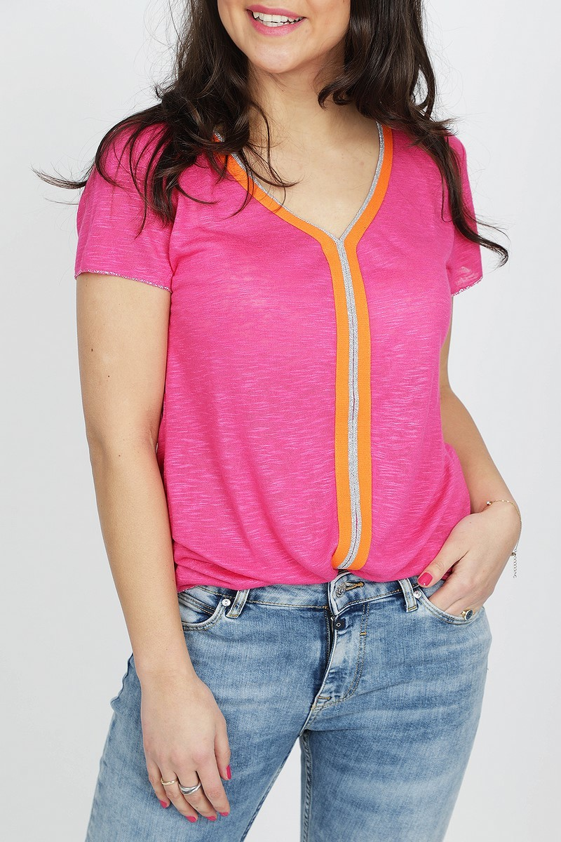 Key Largo Shirt / Top Fuchsia WT Veto