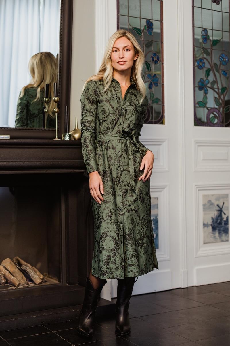 Label Of Elements Maxi-jurken Groen Lilly