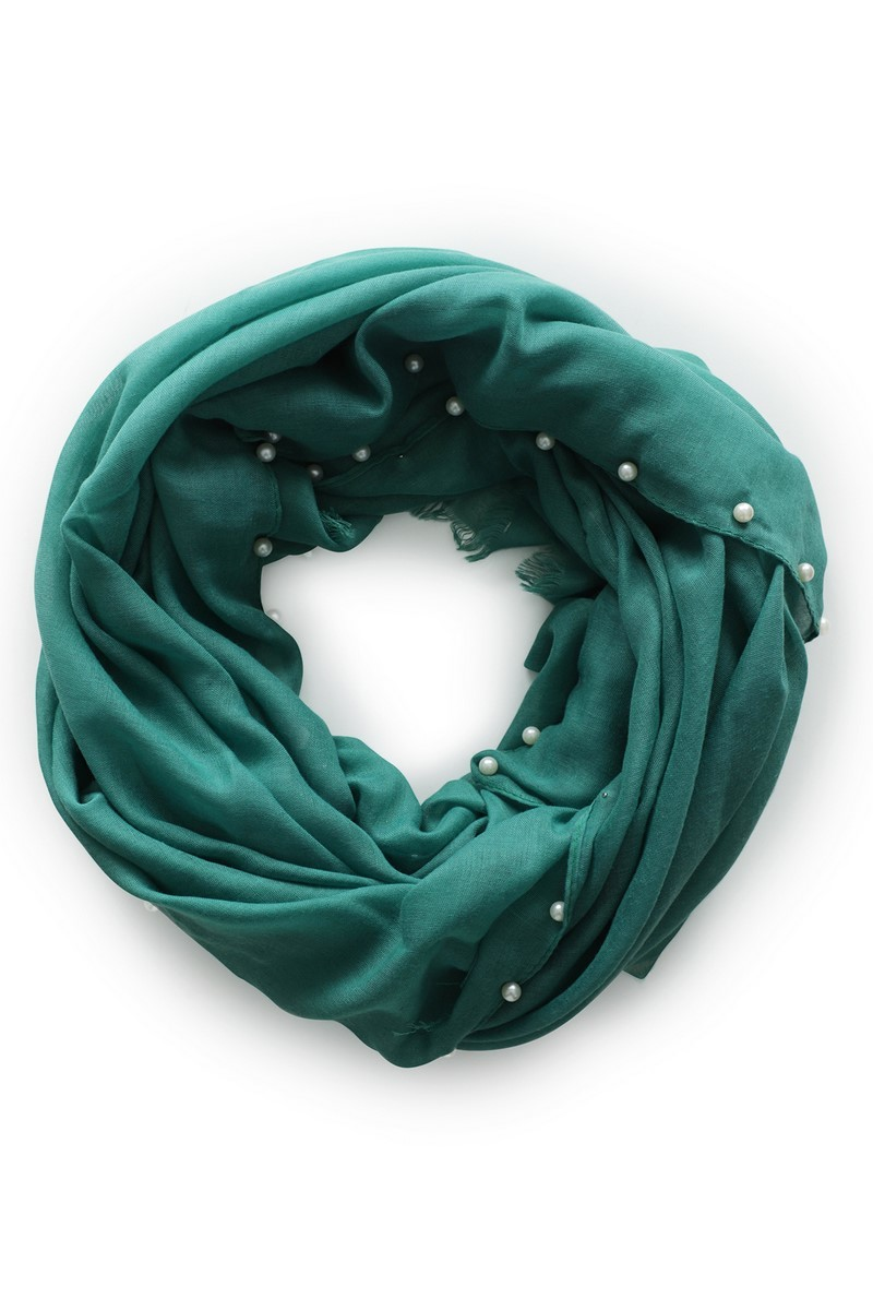 Le Ballon accessoire Groen Scarf Color Pearl