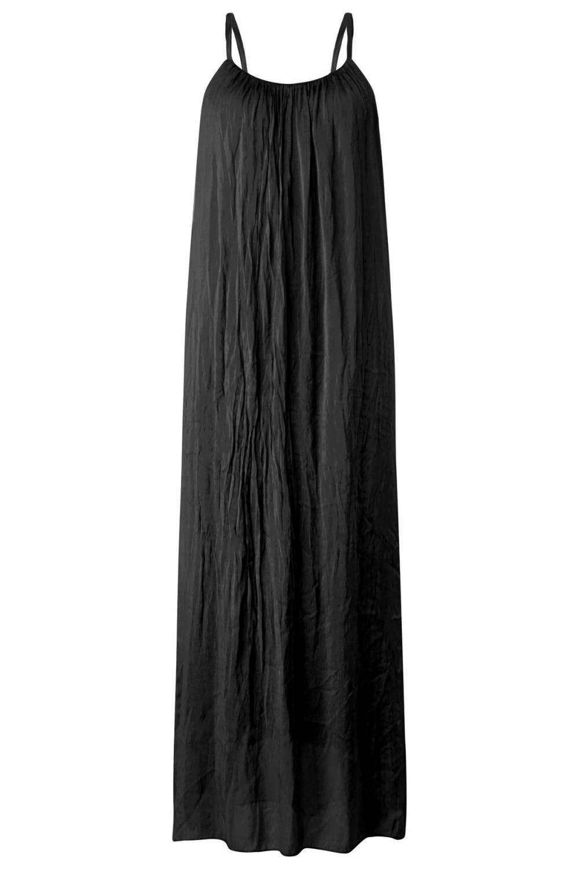 Le Ballon Maxi-jurken Zwart 3500