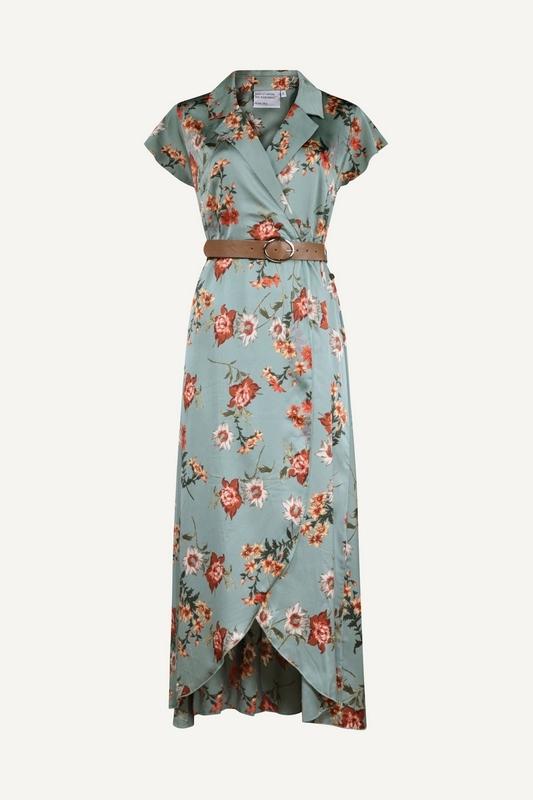 Nova Cinq Maxi-jurk Blauw Phlox