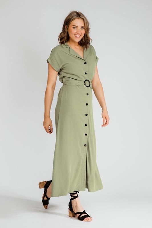 Nova Cinq Maxi-jurk Groen Pomme