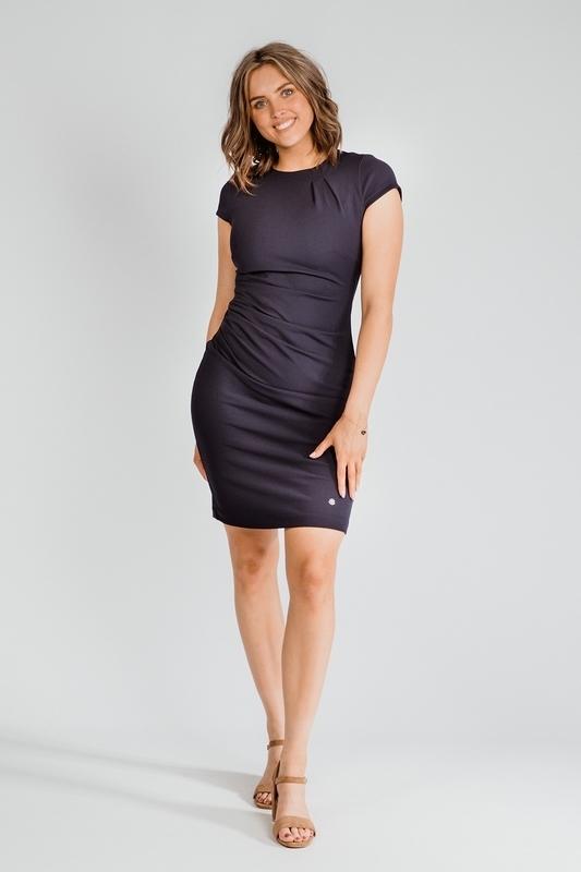 Nova Cinq Midi-jurken Blauw Helly