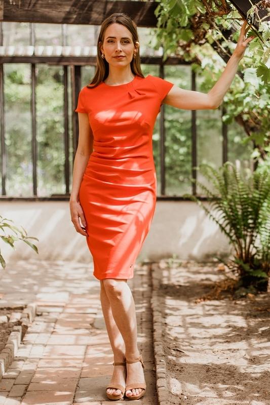 Nova Cinq Midi-jurken Rood Helly
